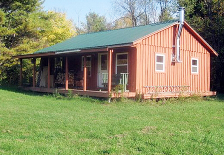 Cabin and Large Acreage NY Camp St. Regis from Land and Camps