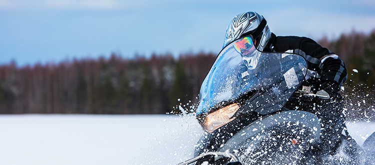 Snowmobiling Land for Sale from Land and Camps