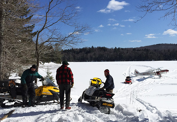 snowmobiling land for sale near tug hill ny snowmobilers together