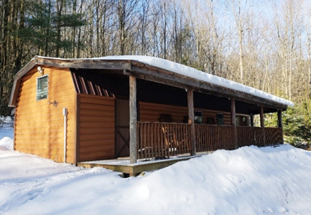 Camps For Sale NY Lincklaen NY Large Cabin From Land And Camps